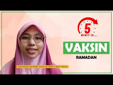 5 Minit Jer Ep 13: Vaksin Ramadan