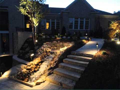 Landscape Design Collection Landscape Lighting Ideas