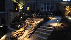 Landscape Design Collection   Landscape Lighting Ideas Pictures