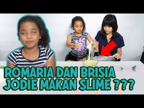 MAKAN SLIME BARENG KAKAK JODIE INDONESIA IDOL!