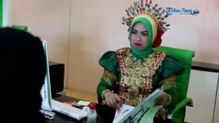Manajemen BPJS Berpakaian Adat Empat Etnis Layani Peserta