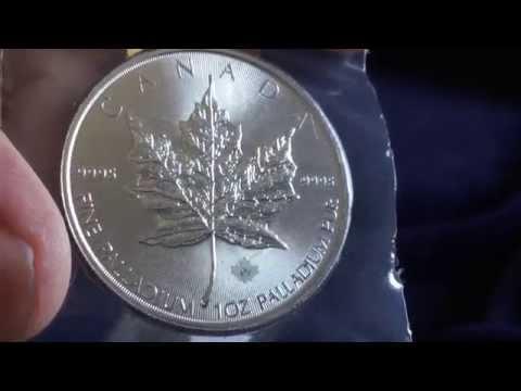 2015 Palladium Maple Leaf Coin