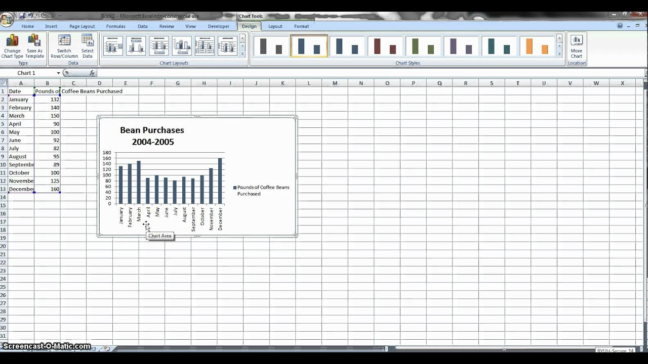 How To Automatically Update Charts On Excel Youtube