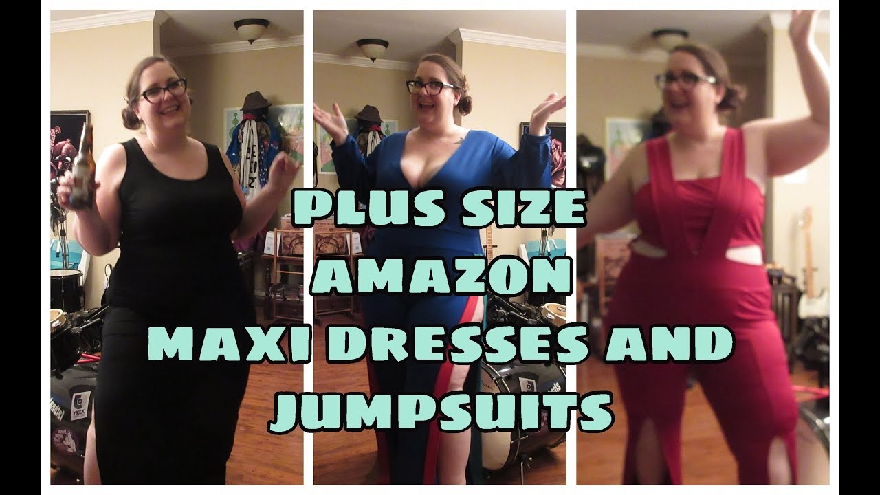 Amazon Maxi Dresses And Jumpsuit Haul Youtube
