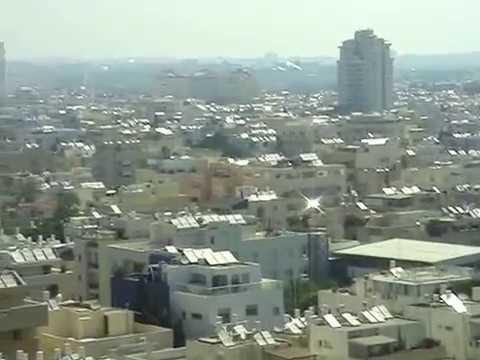 Israeli solar power - Tel Aviv roofs