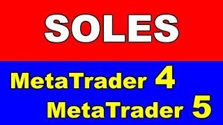 Forex y CFDs - Indicador SOLES para METATRADER 5