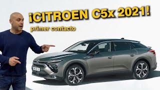 CITROEN C5 X 2021 EN ESPAÑOL: PRIMER CONTACTO y OPINIONES DE JF CALERO ¿Digno heredero?