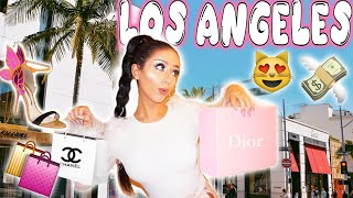 LOS ANGELES SHOPPING SPREE!