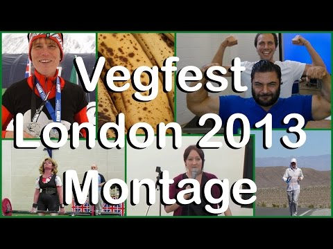 Vegfest London 2013 Montage - Awesome Speakers, Stalls & Artists!!!