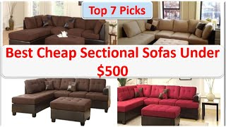 7 Best Cheap Sectional Sofas Under 500  | Amazon Furniture Reviews