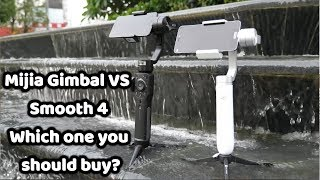 Xiaomi Mijia Phone Gimbal VS Zhiyun Smooth 4: Which One To Choose?