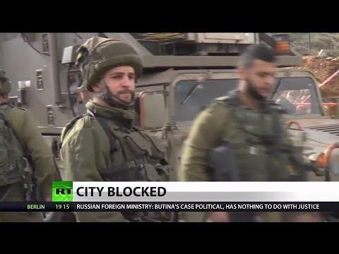 Israel Surrounds Palestinian City
