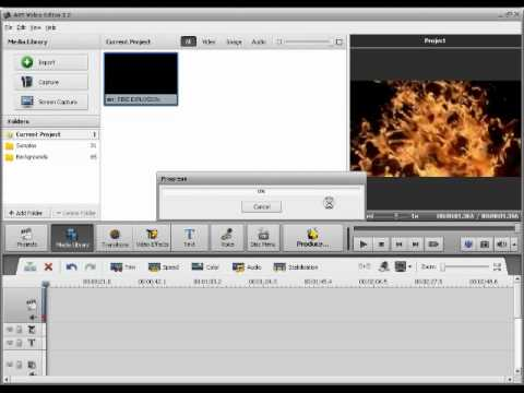 AVS video editor - Time freeze tutorial - YouTube