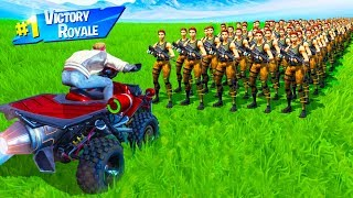 CAN 1.000 BOTS STOP ein VEHICLE in Fortnite Battle Royale