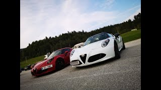 GMS - ALFA ROMEO 4C - TEST DRIVE WITH A CUSTOMER 1