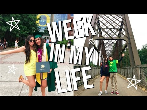 A WEEK IN MY LIFE // Eugene, Portland, And More!