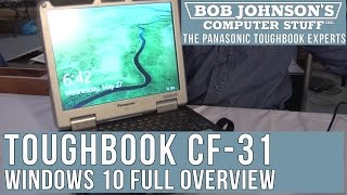 Windows 10 OS Full Overview on a Panasonic Toughbook CF-31
