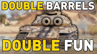 DOUBLE the BARRELS, DOUBLE the FUN in World of Tanks!