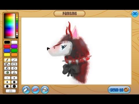 Image of: Realistic Designatprintingcom Animal Jam How To Draw Really Good On Aj Youtube