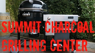 Weber Summit Charcoal Grilling Center - Unboxing und Erklrung