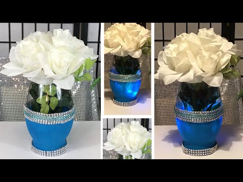 dollar-tree-/-diy-glamorous-turquoise-and-red-floral-centerpieces-/-wedding-ideas