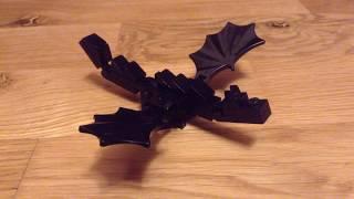 Как сделать мини-Эндер дракона | Лего самоделки #5 | Reptile Dino