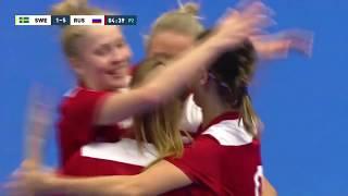 Швеция Россия 1 6 Товарищеский матч Женщины Матч 1