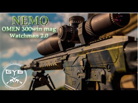 nemo arms omen 300 win mag rifle full review youtube