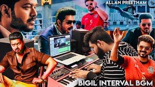Bigil - Interval Block BGM   Allan Preetham   Thalapathy Vijay, Nayanthara   A.R Rahman   Atlee