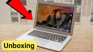 My new Editing Machine | Unboxing of MacBook air