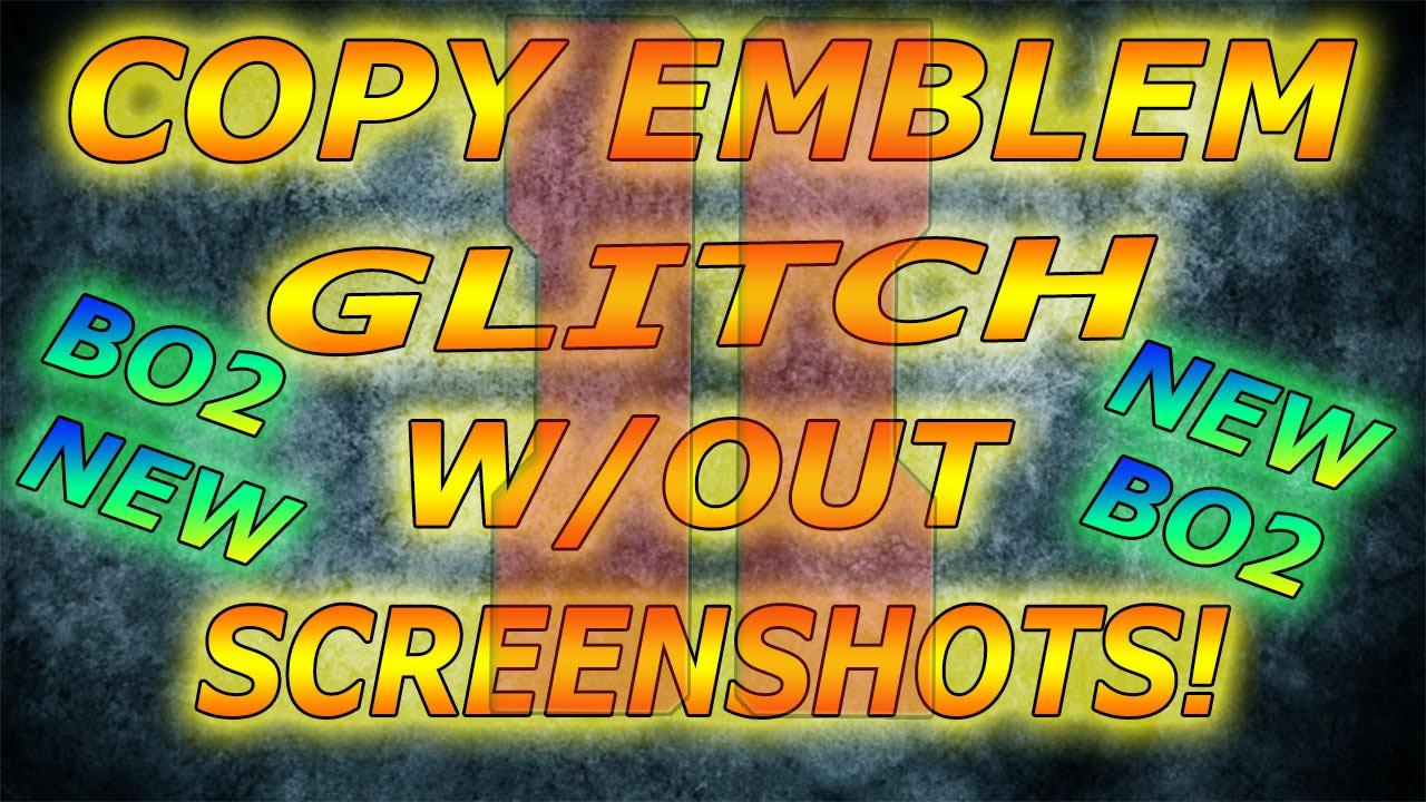 Black Ops 2 - Copy/Steal Emblems Glitch! Working April
