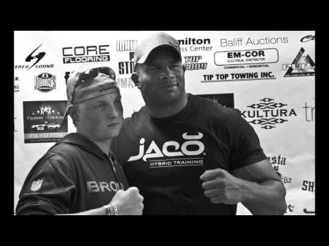 Overeem at Whitby Fight Store