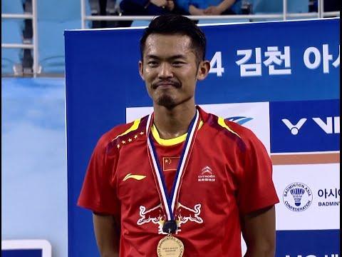 [HD] Final - MS - Lin Dan vs Sasaki Sho - 2014 Badminton Asia Championships
