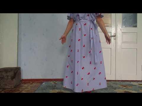 Выкройка на платье   -  отрезное  по  линии  талии   -  часть  2 .