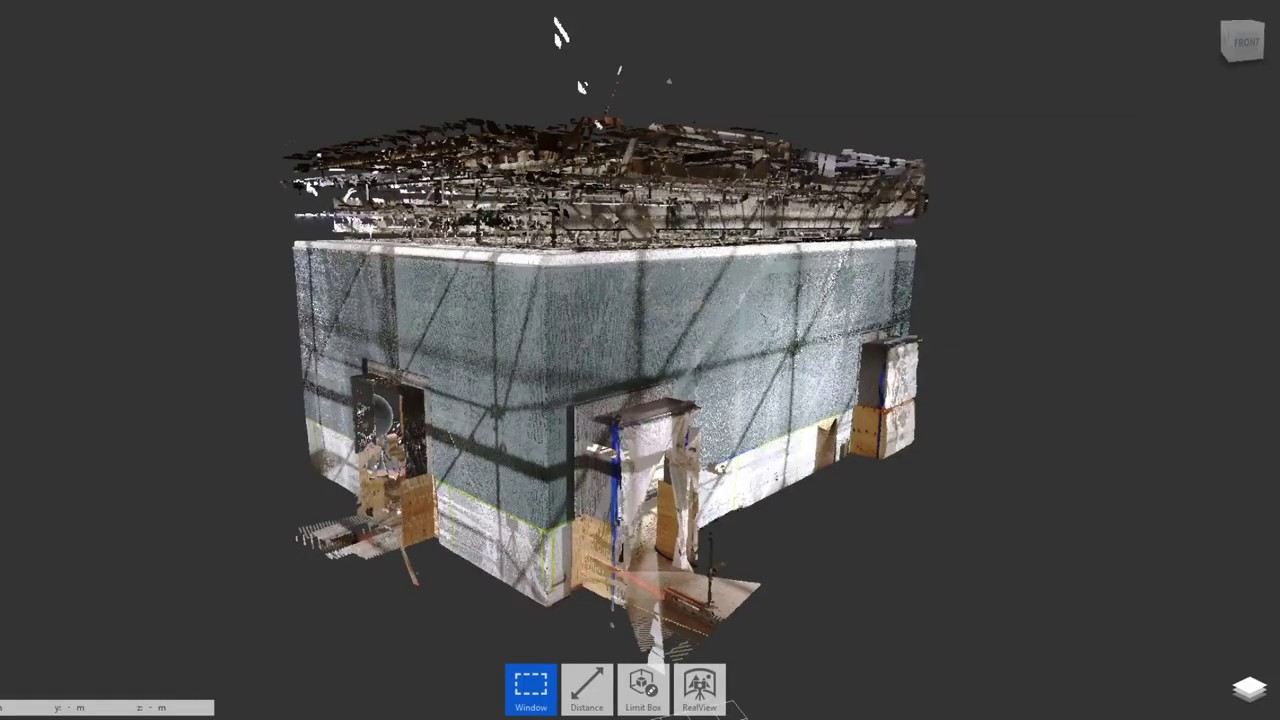 Art of Laser Scanning and Point cloud model as the result