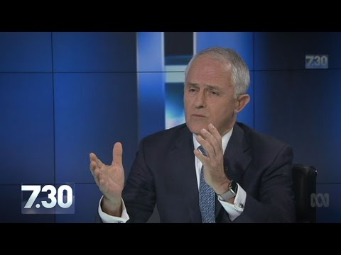Malcolm Turnbull talks same-sex marriage, growth, Hillary Clinton on 7.30
