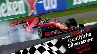 #Formula1 Sintesi e commento qualifiche GP d'Inghilterra  #Silverstone, dominio Mercedes #Leclerc 4°