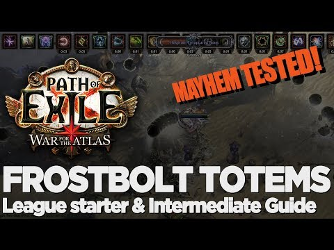 Path of Exile - 3.1 Abyss League Starter! Frostbolt Totem Ascendant