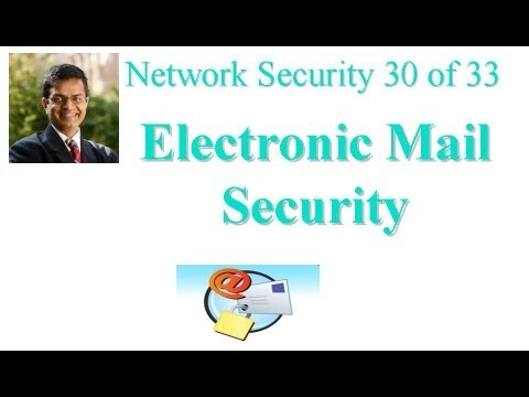 CSE571-11-18: Electronic Mail Security