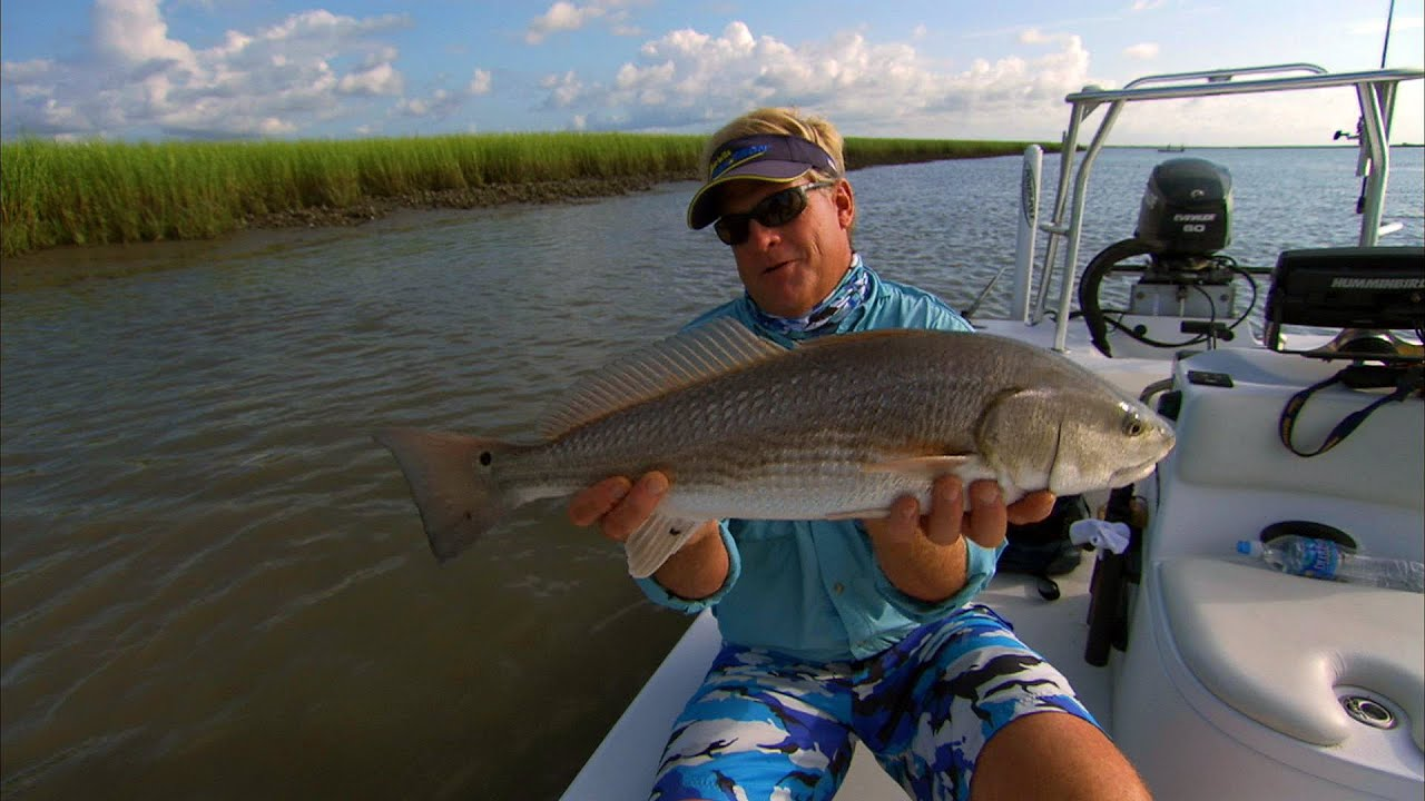 Charleston south carolina fishing for oyster bar redfish for Fishing report charleston sc
