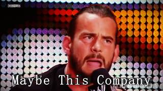 CM Punk || The Voice Of The Voiceless || Believer ||Tribute