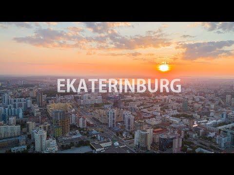 EKATERINBURG / Екатеринбург Drone Hyperlapse (Dronelapse) 4k