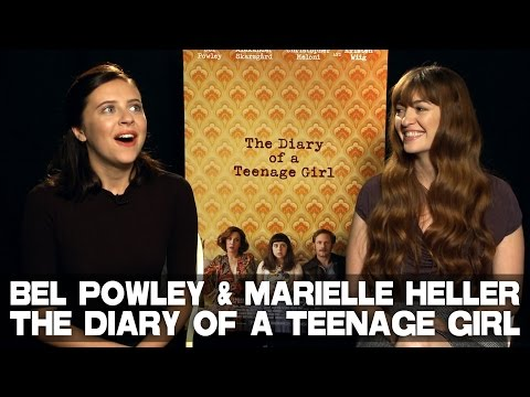 Bel Powley & Marielle Heller talk THE DIARY OF A TEENAGE GIRL
