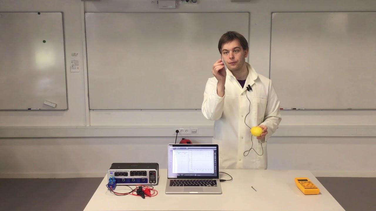 Lav et citronbatteri - Hvordan fungerer det?