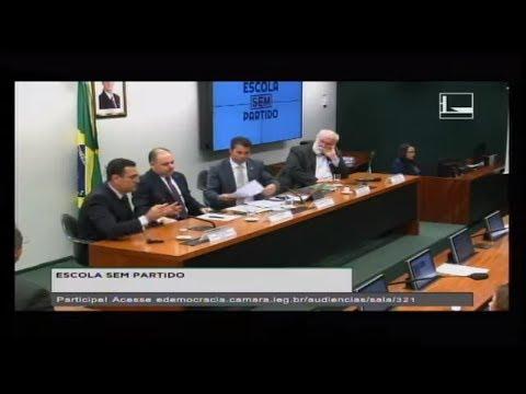 PL 7180/14 - ESCOLA SEM PARTIDO - Audiência Pública - 08/08/2017 - 15:47