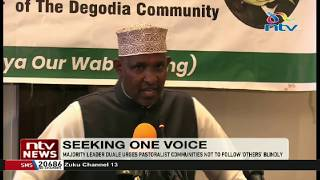 Do not allow DP Ruto and others to make decisions for us - Aden Duale