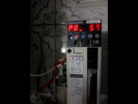 Set parameters panasonic driver minas 5 - YouTube