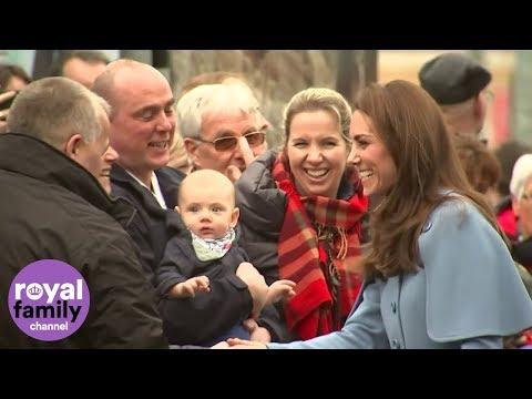 Duke and Duchess of Cambridge raise smiles in Ballymena