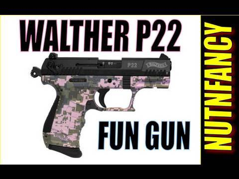 Best  22 LR Caliber Handguns » Walther P22: German-made