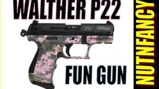 "Walther P22 pistol: ""Recreational Favorite"" by Nutnfancy"